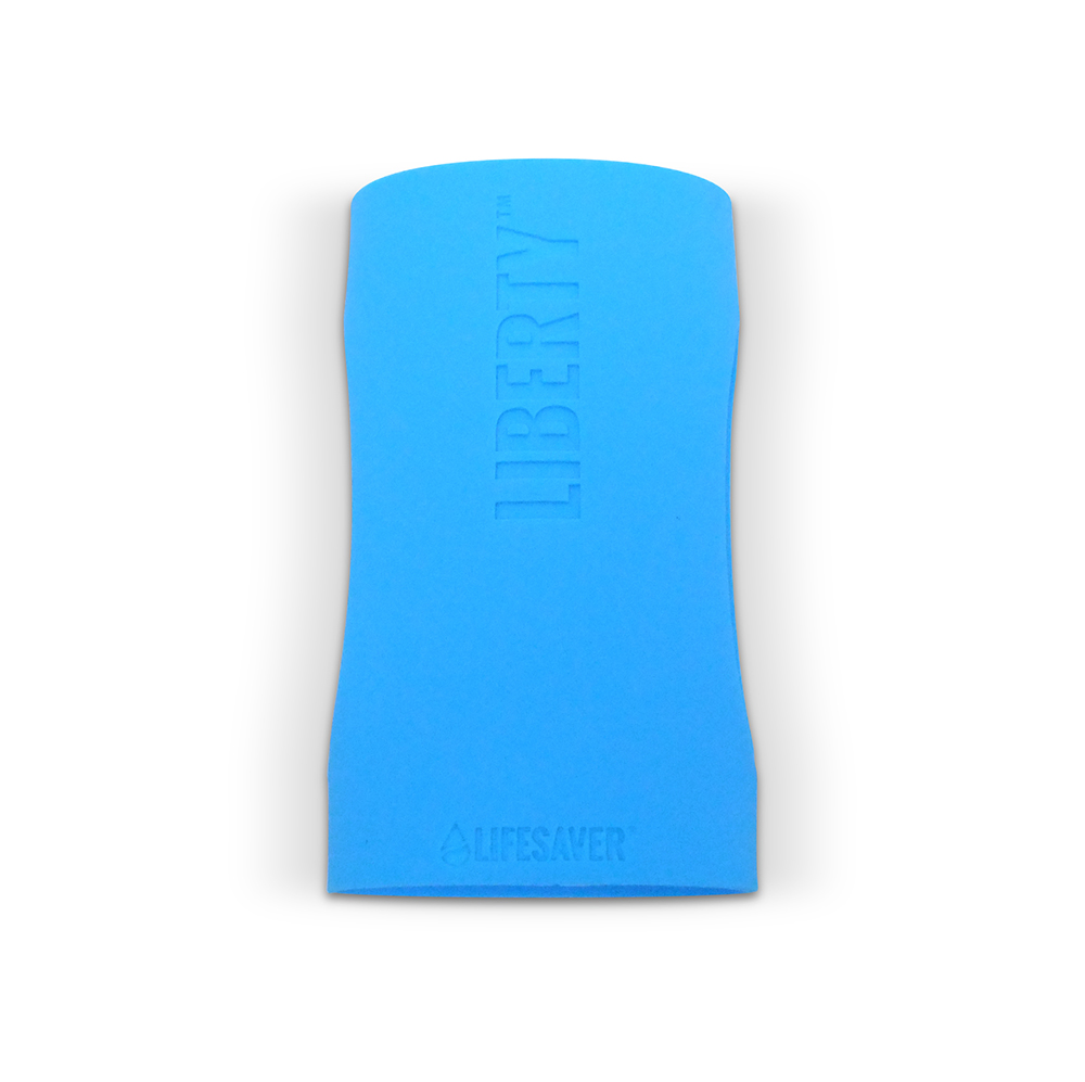 Liberty Accessory – Silicone Sleeve – Isolated – Blue