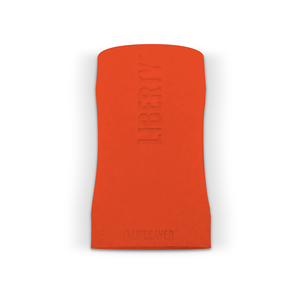 Liberty Accessory – Silicone Sleeve – Isolated – Orange