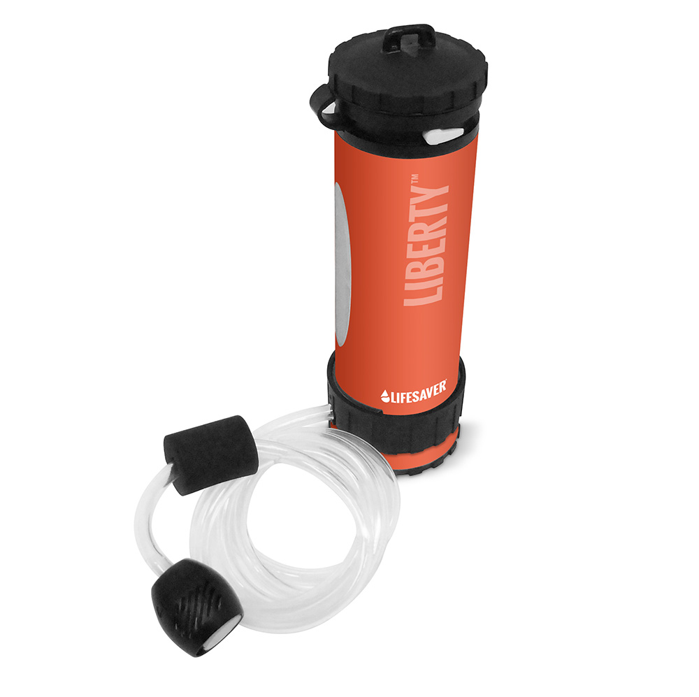 Liberty Bottle – Hose Shot – Orange