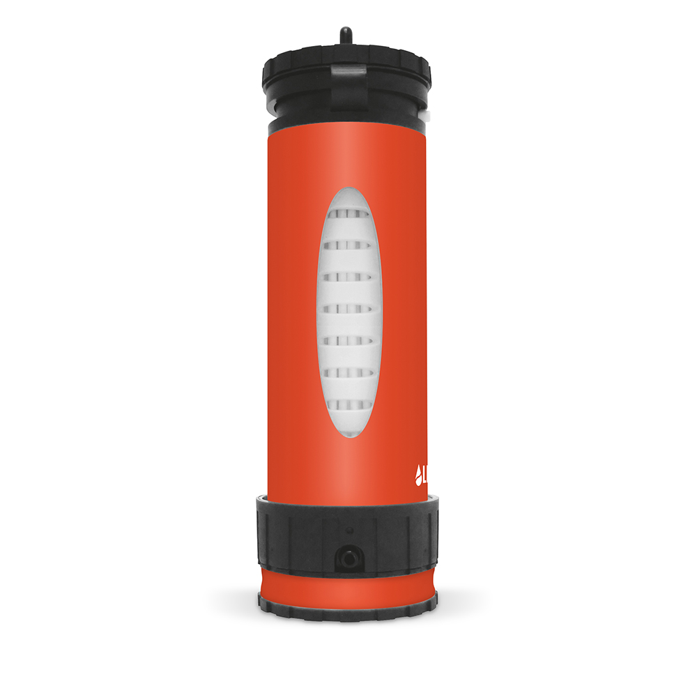 Liberty Bottle – Side Shot – Orange