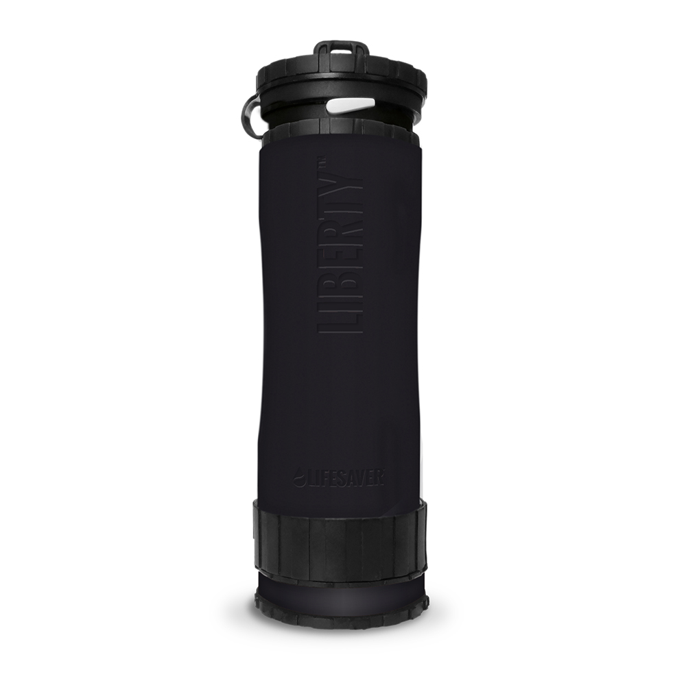 Liberty Accessory – Silicone Sleeve – Front Situ – Black