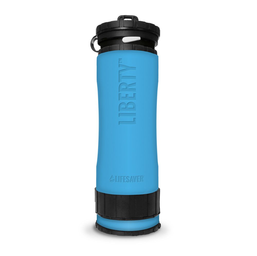 Liberty Accessory – Silicone Sleeve – Front Situ – Blue